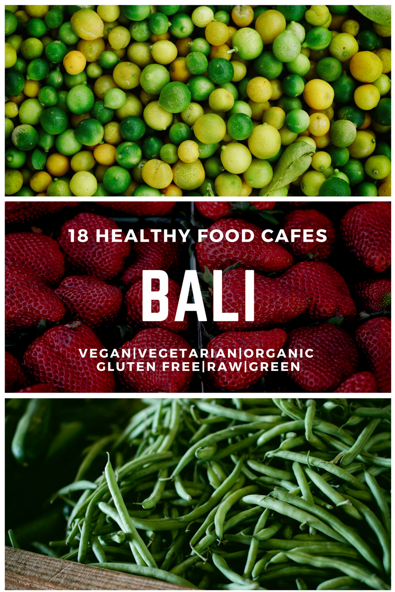 Healthy food Bali