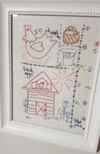 Chicken Stitchery